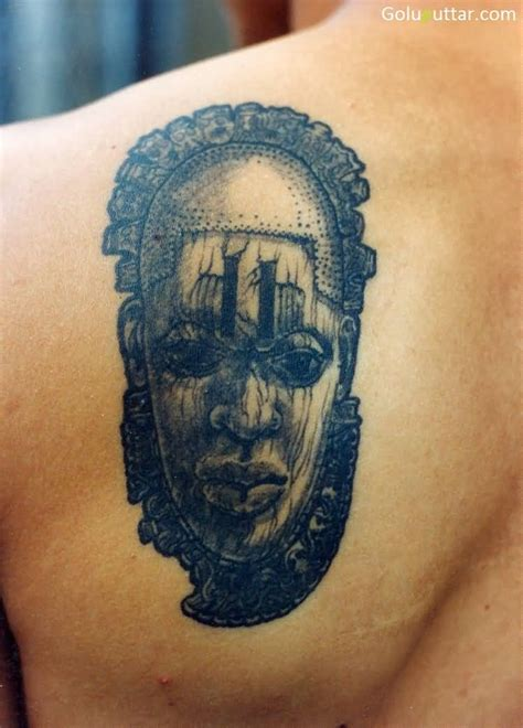 african warrior tattoos warrior mask tattoos www pixshark images
