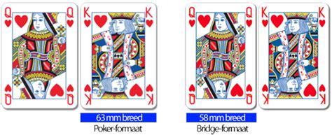 Fortuna Speelkaarten: Speelkaarten op poker formaat.