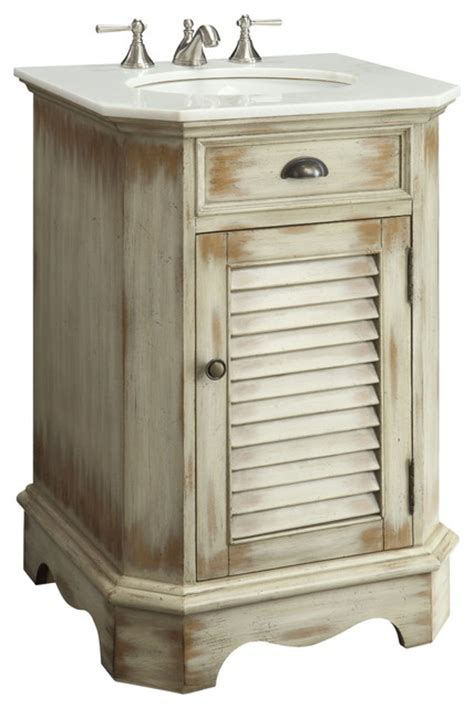 Farmhouse Bathroom Vanity Cabinets by Abbeville Bathroom Sink Vanity 24 Quot Farmhouse Bathroom