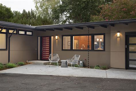 house redesign mid century house remodel project by klopf architecture in