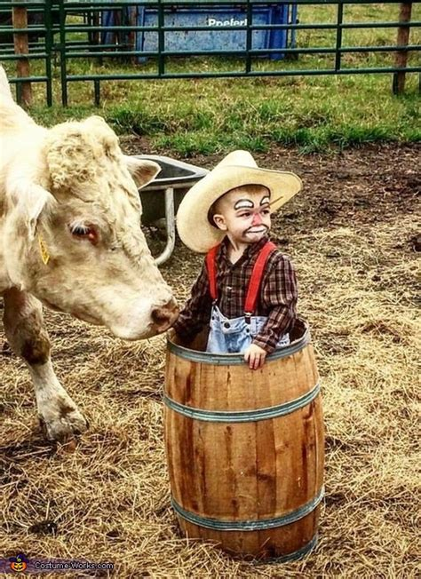 rodeo clown baby costume coolest diy costumes
