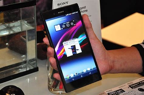 Tablet Sony Xperia 7 Inch impressions sony xperia z ultra science and technology
