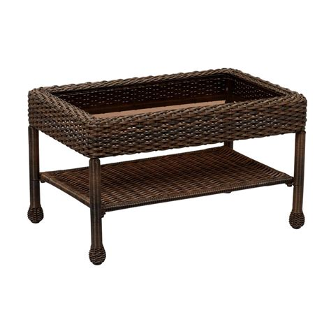 Outdoor Patio Coffee Table Wicker Outdoor Coffee Table Best Home Design 2018