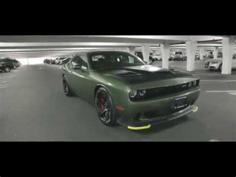 widebody hellcat green brand 2018 dodge challenger hellcat f8 green