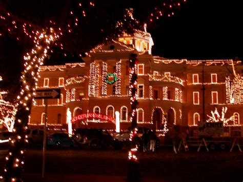 marshall tx christmas lights display december 2003