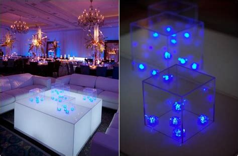 led lights decoration ideas 5 ideas for led centerpieces statement centerpiece by