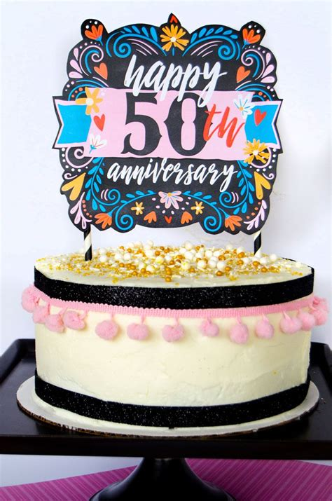 printable cake toppers free anniversary cake topper printable by lindi haws of