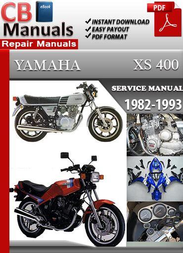 Yamaha Xs 400 1982 1993 Service Repair Manual Ebooks