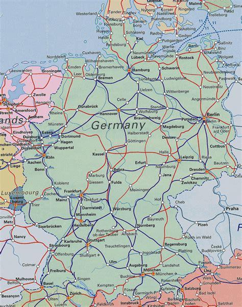german system map diari d un viatge en interrail 2006 mapes obert per