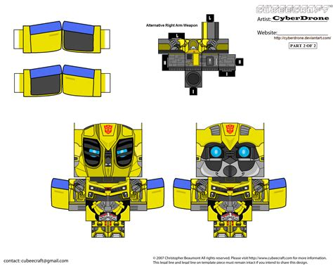 Papercraft For - transformer papercraft templates papercraft