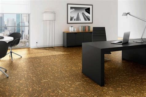 cork floor a practical alternative to wood floors