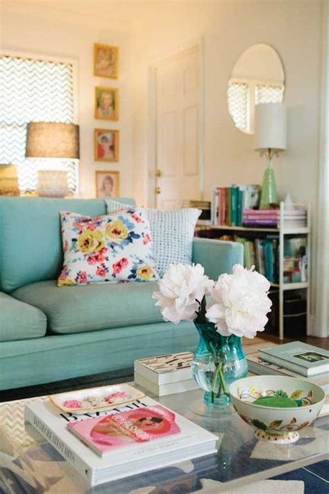 Happy Living Room Colors Living Room With Seafoam Green Colorful Living