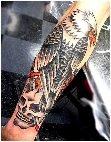 eagle forearm tattoo 35 attention grabbing eagle designs