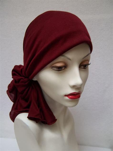 lost their hair prefer to wear a scarf than walk