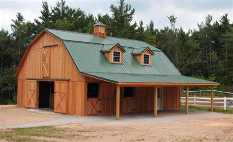 gambrel pole barn barns and buildings by all phase nationwide custom