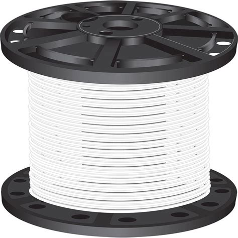 southwire 500 ft 10 white stranded cu xhhw wire