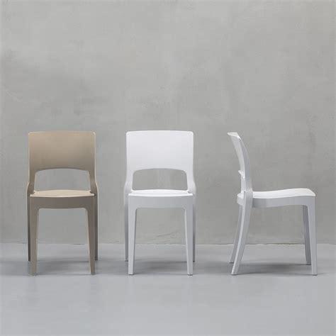 sedie tecno isy tecno 2327 sedia design in tecnopolimero impilabile