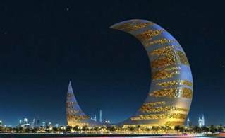 Moon Tower Crescent Moon Tower In Dubai General Information