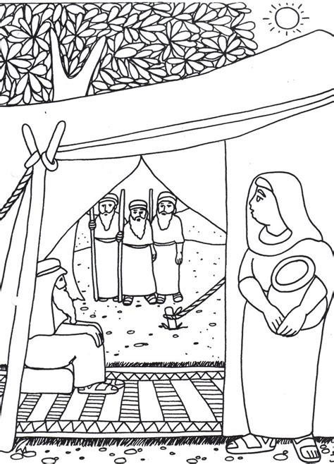 25 Best Images About Hagar Ishmael On Pinterest Water Hagar And Ishmael Coloring Page