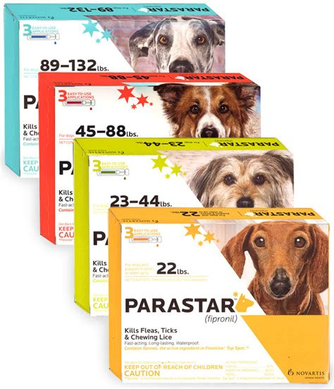 parastar for dogs flea and tick medicine flea medicine for dogs entirelypets