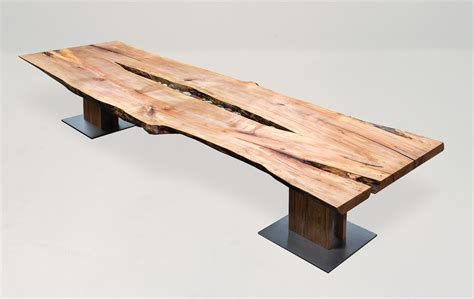 Table Supports by Mapleart Custom Wood Furniture Vancouver Bclaurel