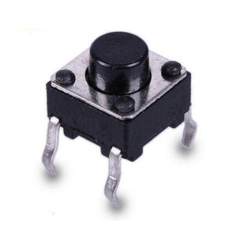 Push Button 6x6x5 4 Pin ทนกระแส 50 ma