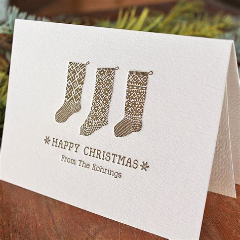 Card Press Original 50 personalised letterpress cards by artcadia