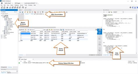 sql bench mysql workbench tutorial mysql introduction