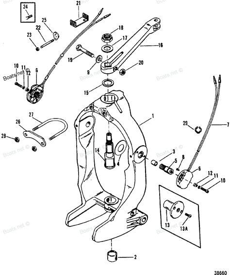 mercruiser 4 3 parts diagram bravo three drive transom mercruiser 0b664190 thru