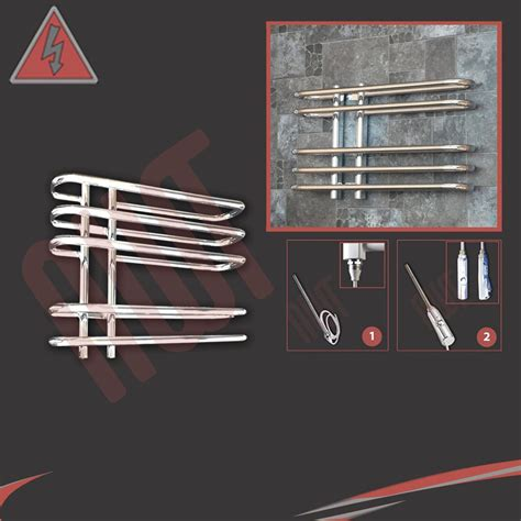contemporary heated towel rails for bathrooms designer chrome electric heated towel rails bathroom