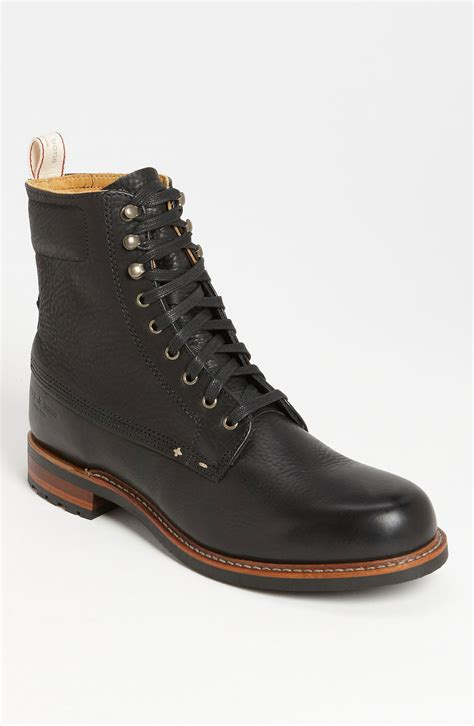 rag and bone boots rag bone officer boot in black for lyst