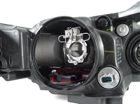 how to replace 2006 acura tl headlight 2004 2005 acura tl depo clear corner diffuser bi xenon d2s projector headlight