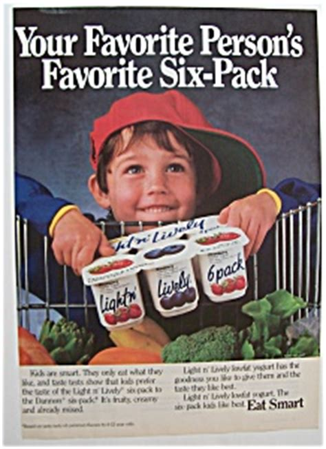 light and lively yogurt 1988 light n lively yogurt dairy at ads by