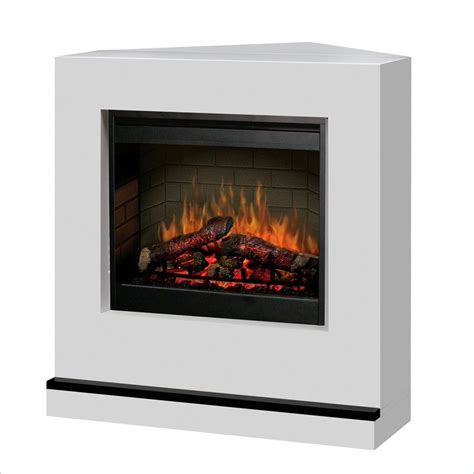 modern corner electric fireplace contemporary covertable corner electric fireplace in white