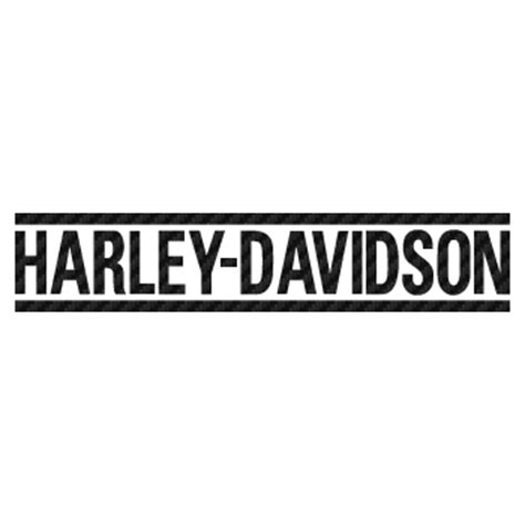 design font harley davidson harley davidson bike decoration logo carbon decal