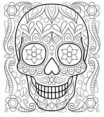 imagenes para colorear ofrendas dia muertos calaveras y catrinas para colorear el d 205 a de los muertos