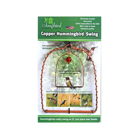 copper hummingbird swing copper hummingbird swing la plume verte