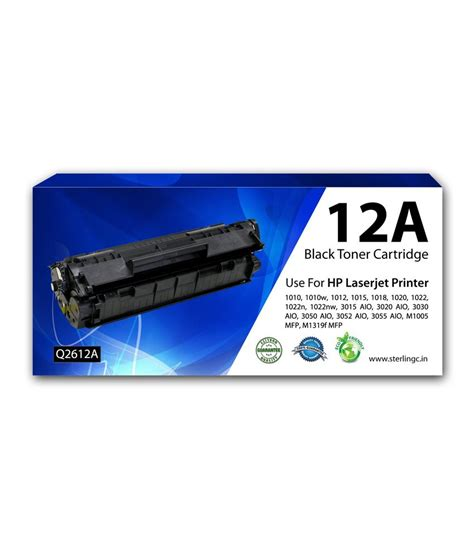 Toner 12a sterling computers 12a toner cartridge compatible for hp