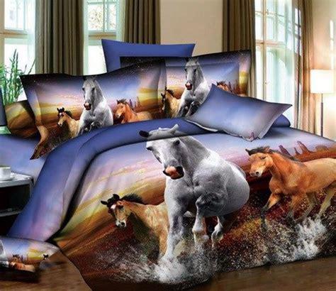 horse comforter sets queen 3d horse design print bedding comforter sets queen size