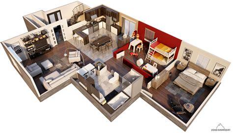House Plans And Floor Plans zone sismique equation humaine maison 3d coup 233 adele