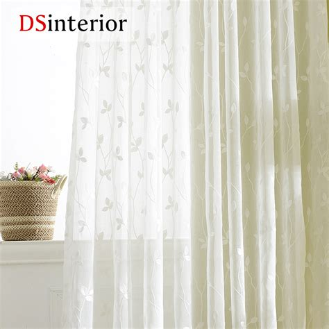 white embroidered curtains dsinterior white embroidered curtains sheer curtains for