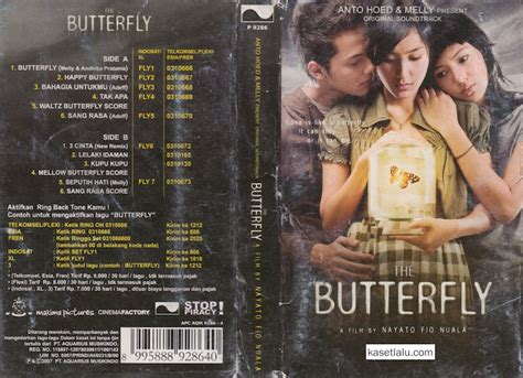 Kaset Ost ost the butterfly kaset lalu