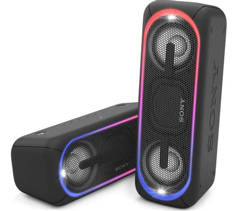 Speaker Sony buy sony bass srs xb40 portable bluetooth wireless speaker black free delivery currys