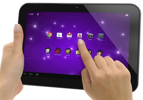 Tablet Polytron 10 Inch jelly bean equipped toshiba 10 inch tablet to cost 350 the tech report