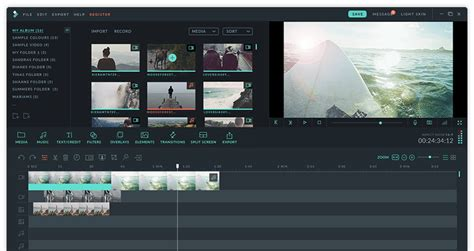 free download video editing software full version with key oficial wondershare filmora video editor editor de
