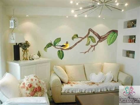 wall mural ideas 45 living room wall decor ideas decorationy