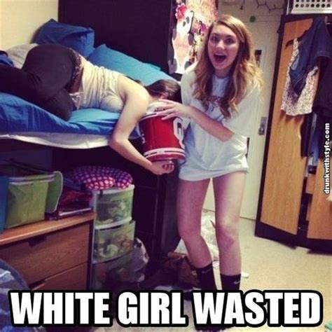 Drunk Girl Meme - white trash meme