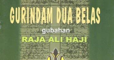 Buku Seru Hadji Murat 2017 kepada puisi gurindam dua belas