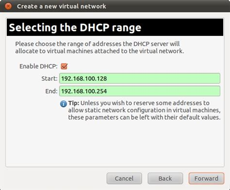 how to configure dhcp server on ubuntu youtube configuring a new ubuntu 11 04 kvm virtual network