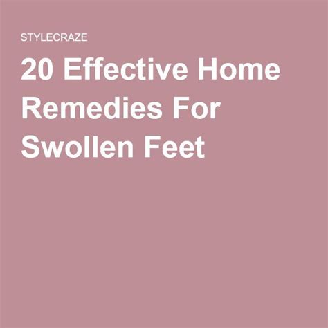 Detox For A Swollen by 58 Best Images About Arthritis Foot Remedies On